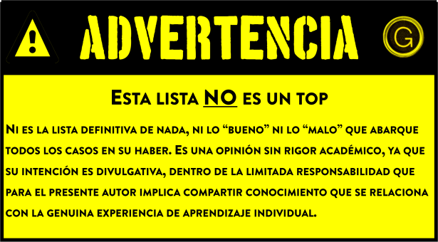 advertencia - responsabilidad